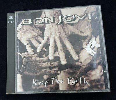 {夏荷 美學生活小舖}二手CD  Bon Jovi - Keep the Faith 雙CD