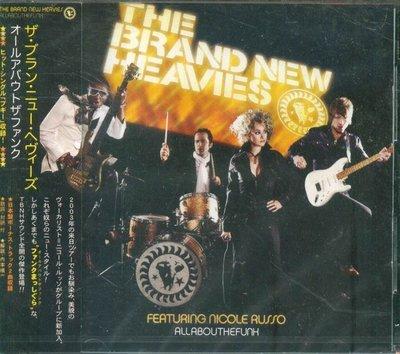 K - Brand New Heavies All About the Funk  - 日版 +2BONU - NEW