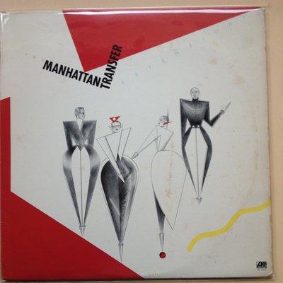 X黑膠唱片 MANHATTAN TRANSFER 片況不錯  美版  更新內外袋