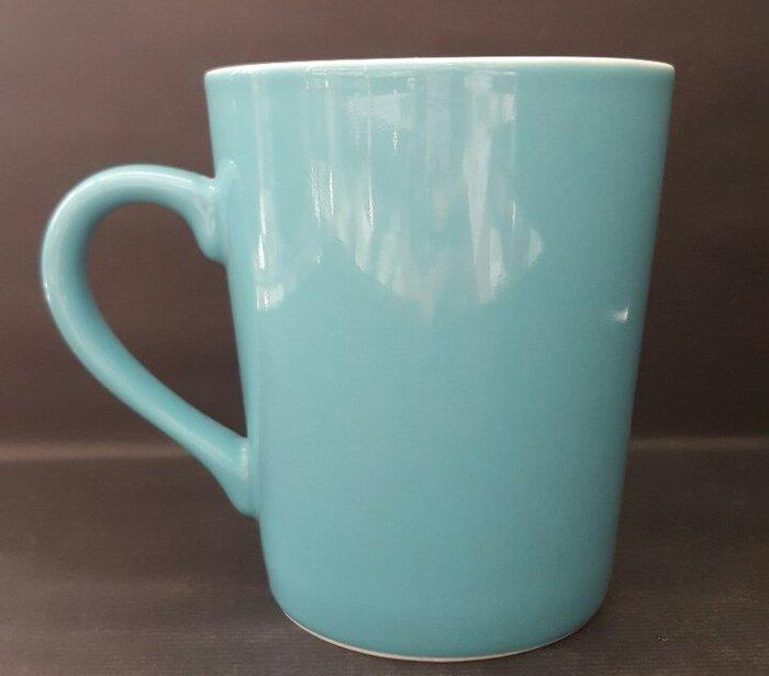 【無敵餐具】台製特厚摩斯杯(350CC)7色 陶瓷馬克杯/特厚材質不易破損/可印logo 歡迎來店參觀喔!【A0208】