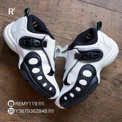 R'代購Nike Zoom GP Retro Gary Payton OG 白黑綠 手套 AR4342-100