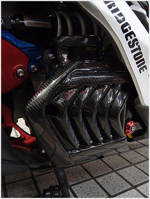 【貝爾摩托車精品店】碳纖維 卡夢 原廠 包覆 CARBON 水箱罩 SMAX 155 專用