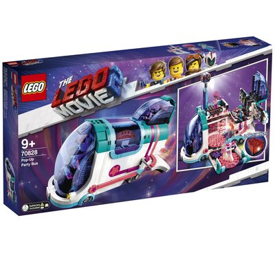 【鄭姐的店】樂高 70828 LEGO MOVIE 系列 - Pop-Up Party Bus