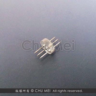 13mm三線簡易式中接 - 中接 接頭 中接頭 連接器 相連 串接 led 燈條 條燈 圓三線 美耐燈 水管燈