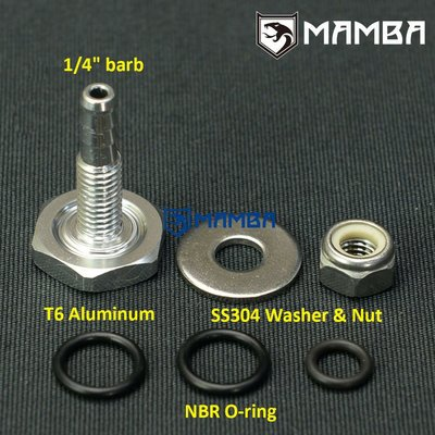 "1/4"" Boost Vacuum Soft Fitting for Toyota Landcruiser Hilux"