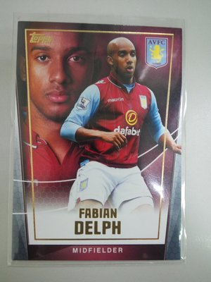 Fabian Delph - 普卡 - 2015 Topps Premier Club