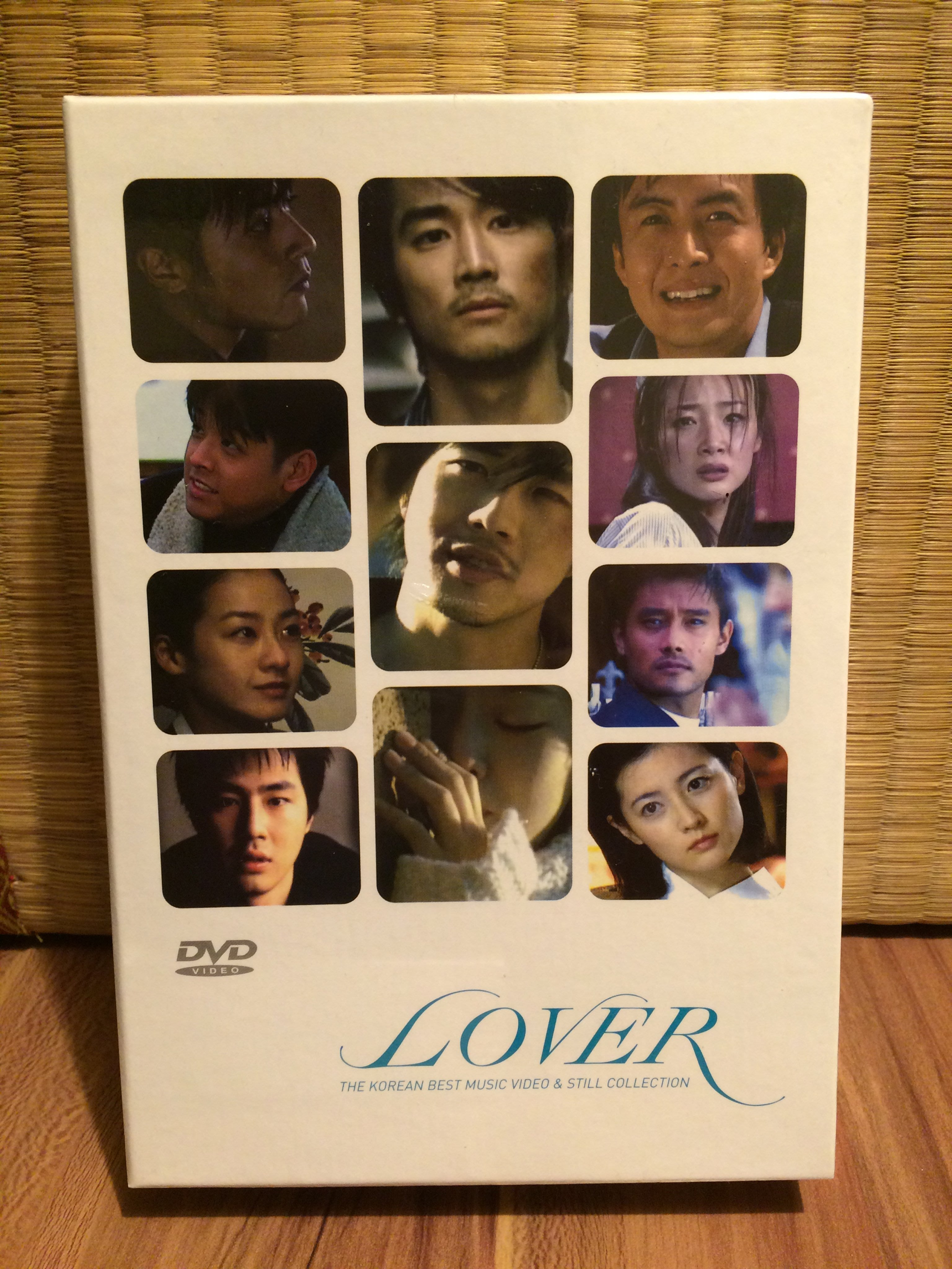 LOVER~THE KOREAN BEST MUSIC VIDEO&STILL COLLECTION 張東健/宋承憲
