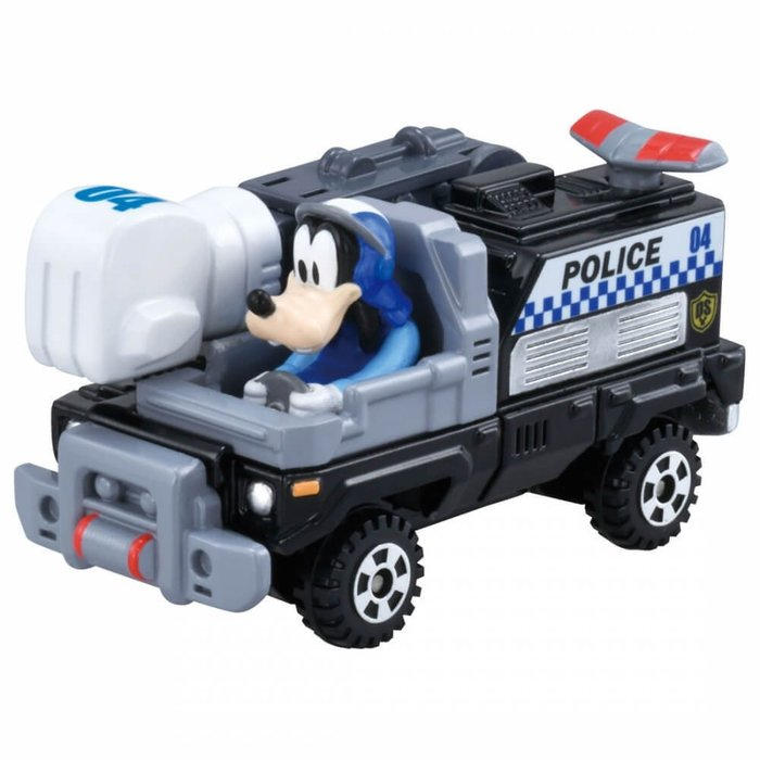 =海神坊=日本原裝空運 TAKARA TOMY 多美小汽車 迪士尼 DS-04 米奇妙妙保衛隊 高飛 合金模型車