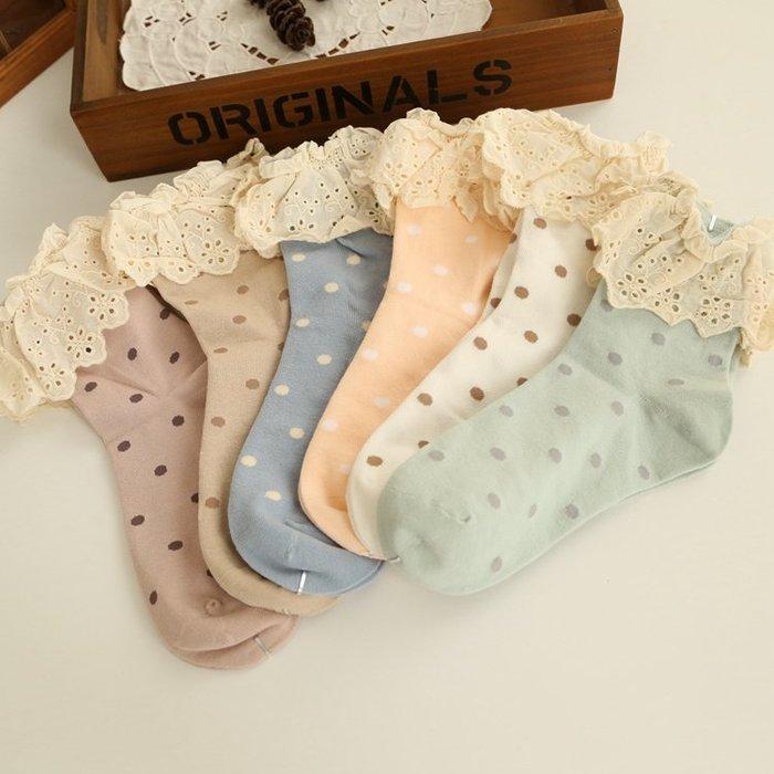 日本純棉蕾絲短襪 蕾絲棉質夏季女襪 出清特賣10雙850元(一雙才85元喔)隨機出貨