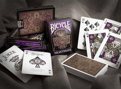 【USPCC撲克】BICYCLE 808 NIGHTSHADE DECK 噩夢撲克牌