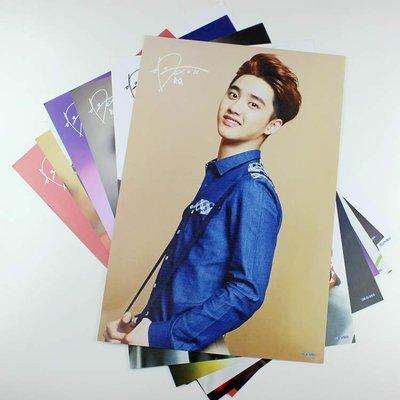【預購】-EXO-K嘟景秀D.O.單人《海報》 韓國港台明星 42公分*29公分(一套8張) 房間裝飾生日禮物hb0099