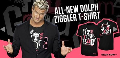 ☆阿Su倉庫☆WWE Dolph Ziggler It's Too Bad I'm Too Good Pink DZ愛現