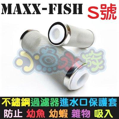 【小魚水族】【MAXXFISH、不鏽鋼進水口濾網保護套、S號】不鏽鋼炸彈頭、入水口保護套、濾網頭、防止幼魚幼蝦吸入
