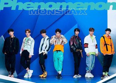 特價預購 MONSTA X Phenomenon (日版初回限定B盤CD+DVD) 最新 2019 航空版