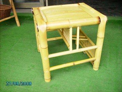 **竹還真竹藝館**竹製母子椅 ((正面可當一般座椅;背面當幼兒座椅))