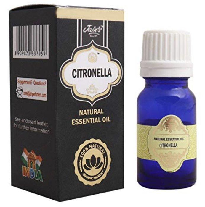 [綺異館]印度精油 香茅 10ml JAIN'S CITRONELLA 另售印度皂 印度香