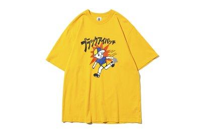 """[ LAB Taipei ] BlackEyePatch """" CHILDREN AT PLAY TEE""""(Yellow)"""