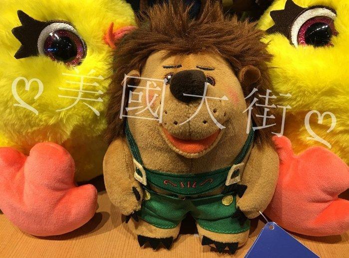 【美國大街】正品.美國迪士尼玩具總動員刺蝟絨毛娃娃釘子褲先生絨毛娃娃  6.5吋 / 16cm