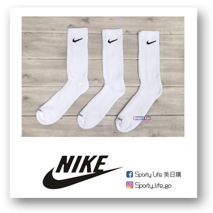 【SL美日購】NIKE Dri-Fit Crew Socks 襪子 白襪 休閒襪 籃球襪 白長襪 美國代購