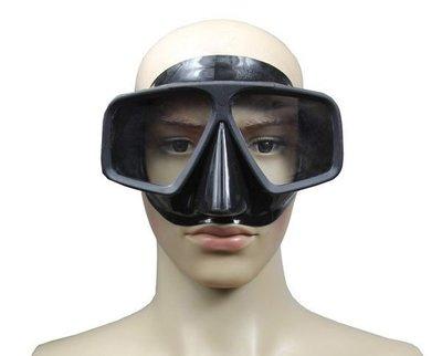 【綠色運動】Manner潛水面鏡QPM2051 黑色成人面鏡 馬爾代夫首選潛水面鏡 潛水必備 黑色