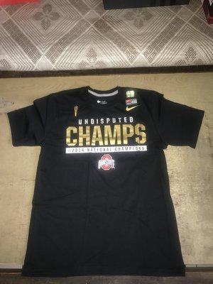 NIKE NCAA 俄亥俄州立大學 14年 冠軍 紀念 T恤 偉殷 岱鋼 洋基 馬林魚 金鋒 建民 bRAdy 牛仔 北卡