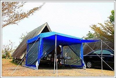 露營小站~限量特價【YK-106】速可搭 客廳帳、炊事帳、27秒帳-鐵架