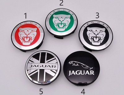 JAGUAR 捷豹XJ XF XK X-TYPE汽車輪轂電鍍中心蓋輪胎蓋 輪轂蓋標 保護蓋