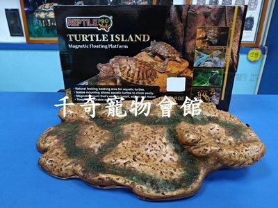 ☆千奇爬蟲☆REPTILE-PRO磁吸固定式烏龜島(L)