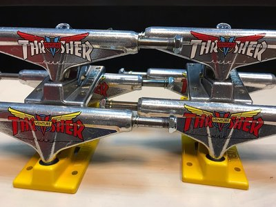 [THE GAME SKATE SHOP] Venture Trucks X Thrash 聯名款輪架