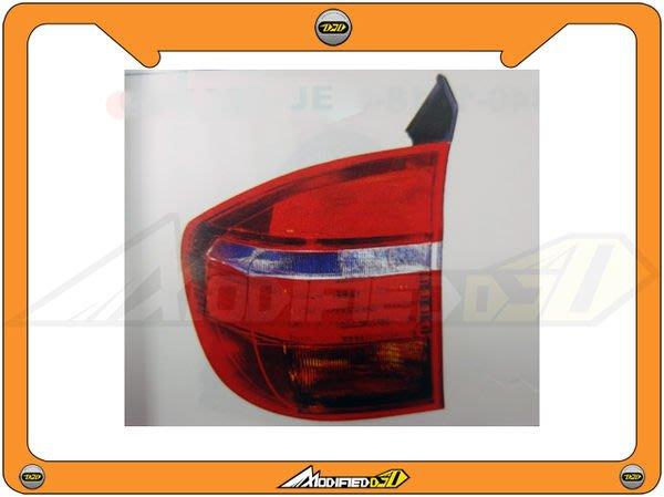 DJD 14-BMW-1E0008 BMW 寶馬 X5 E70 07 光柱型LED紅白晶鑽尾燈
