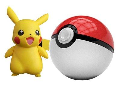 二代升級版神奇寶貝行動電源Pokemon Go精靈球充電寶12000mah 安培掛繩