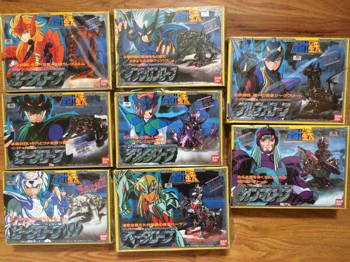 聖鬥士星矢-日版聖衣大系之北歐神鬥衣共八盒全齊 新品未開封(未使用)