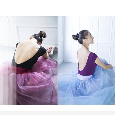 芭蕾舞蹈裙芭蕾舞裙成人芭蕾舞蹈紗裙白蓬蓬裙天鵝湖演出表演比賽芭蕾舞