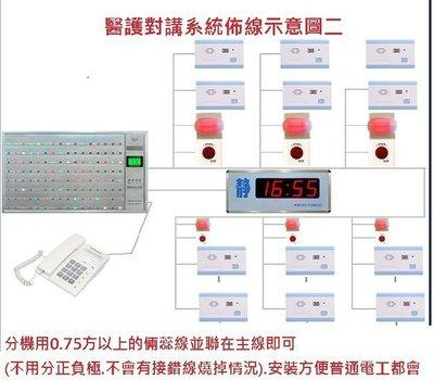 醫院.養老院.安養中心專用有線呼叫器也適合各業種包廂隔間/民宿/按摩/理容/KTV/餐飲使用(豪華型)/需佈線