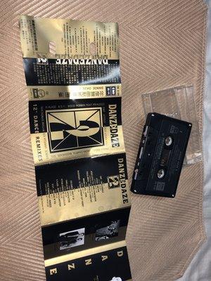 【李歐的音樂】EMI唱片1990年代 年度舞曲點將錄 第二集 DANZE DAZE 2  錄音帶 卡帶下標=結標