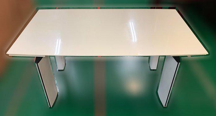 二手家具推薦【宏品二手家具】全新二手傢俱買賣E120707*大理石餐桌*2手桌椅拍 戶外休閒桌椅 滿千送百豐富喜悅新竹