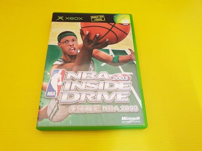 ☆誠信3C☆買賣交換最划算☆最便宜 XBOX 二手 遊戲 NBA 2003 只賣90 店內另有大量遊戲片