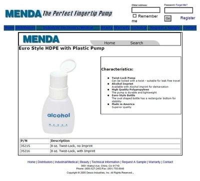 美國進口 AB1進口酒精瓶 Menda 35216 清潔儲液瓶 光纖酒精 光纖清潔 電子大廠專用電子清潔 光電