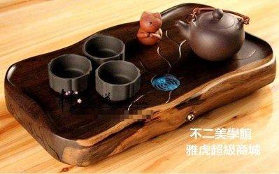 【格倫雅】^具整塊實木茶盤 黑檀木茶盤雞翅木茶海 根雕茶托盤無24545[g-l-y11