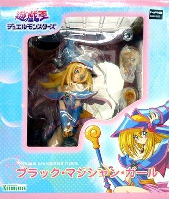 日本正版 壽屋 遊戲王 怪獸之決鬥 黑魔導女孩 1/7 公仔 模型 日本代購