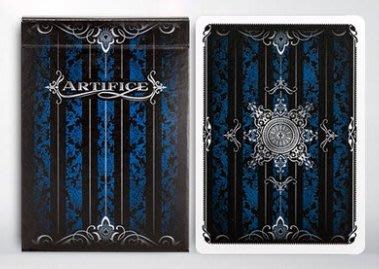 [fun magic] 藍色詭計撲克牌 Artifice Blue decks 收藏牌 藍色詭計