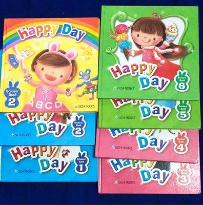 【彩虹小館】7書+7互動光碟~Happy Day_Student Book(1~6)