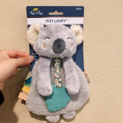手偶玩具在途/美國代購ITZY RITZY嬰兒安撫巾布偶牙膠安撫玩具