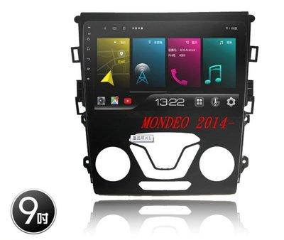 威宏專業汽車音響 JHY  FORD MONDEO 專用9吋多媒體安卓機8核 K73 2+32G K99