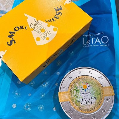 ST 小旺鋪   日本北海道  小樽LeTAO 圓罐裝   茶葉系列