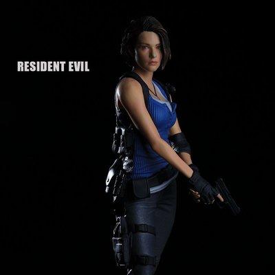 國產 Resident Evil生化危機吉爾手辦 1/6典藏版模型游戲擺件周邊@sa03025#手辦