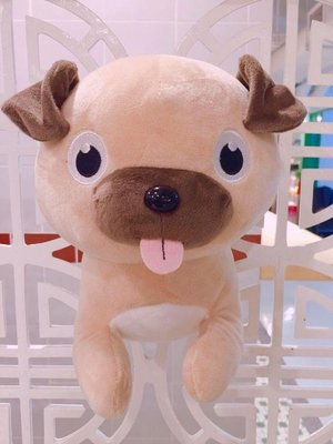 香港自家品牌 萌爆八哥公仔 Lovely Pug Doll