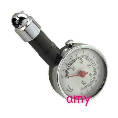 =阿美=汽車 機車用金屬製 耐用型 高精度 輪胎 胎壓器 胎壓計 胎壓偵測器 胎壓表錶 打氣量壓表 可放氣洩壓 腳踏車