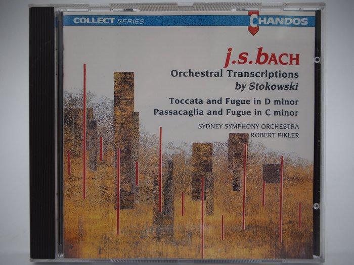 J.S. Bach:Orchestral Transcriptions by Stokowski_古典樂 〖專輯〗CIR