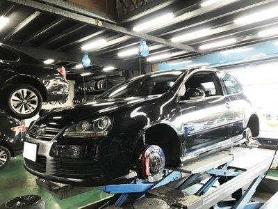 CS車宮車業 JK RACING VW GOLF MK5 系列 GTI R32 道路運動版避震器